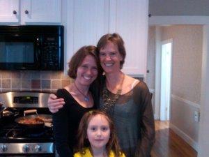 Theresa, Maria and me
